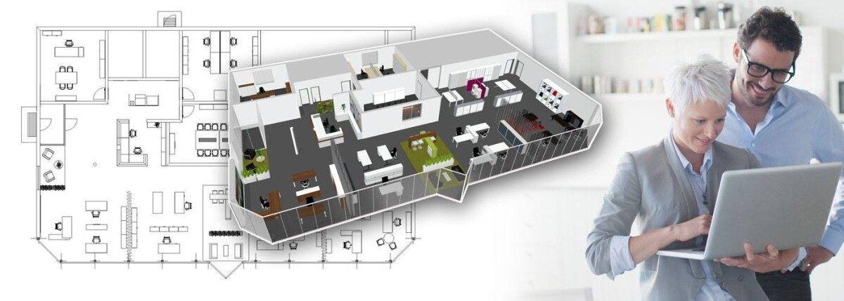 Moderne bürokonzepte  CAD-Daten - PALMBERG Büroeinrichtungen + Service GmbH
