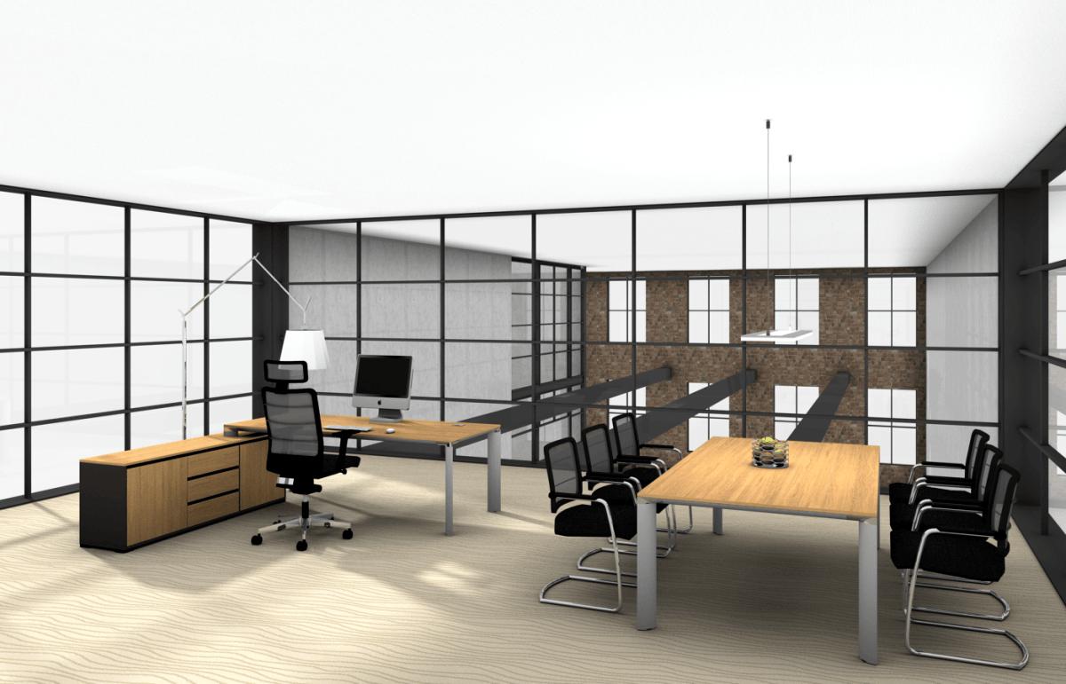 Schreibtisch chefburo for Buromobel hochwertig