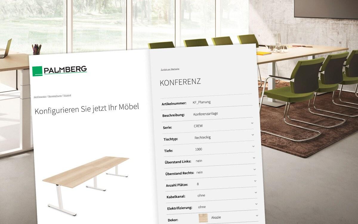 Büromöbel Konfigurator Palmberg Büroeinrichtungen